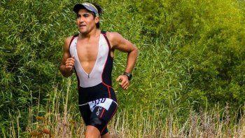 Marcos Hernández se destacó en el Ironman 70.3 y es uno de los 12 argentinos que aseguraron su plaza al Mundial de Sudáfrica.