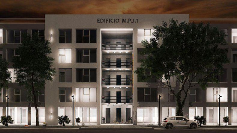 La fachada que lucirá el edificio.