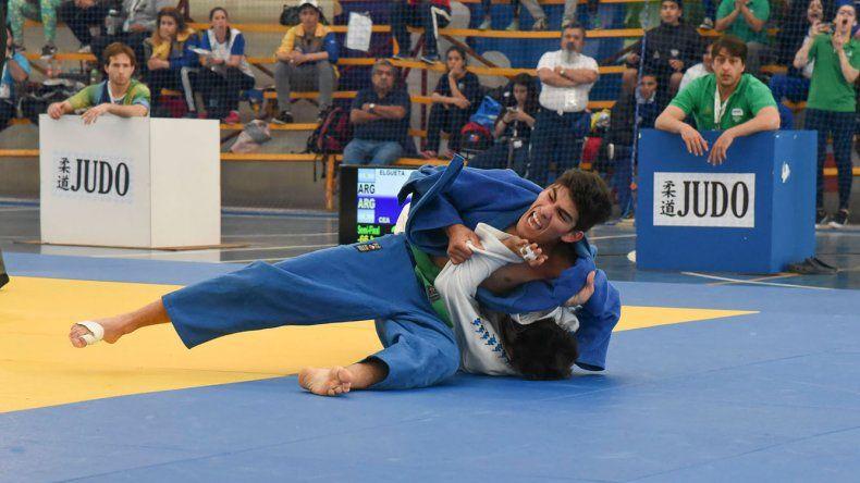 El judo tuvo lugar en el gimnasio municipal 4.