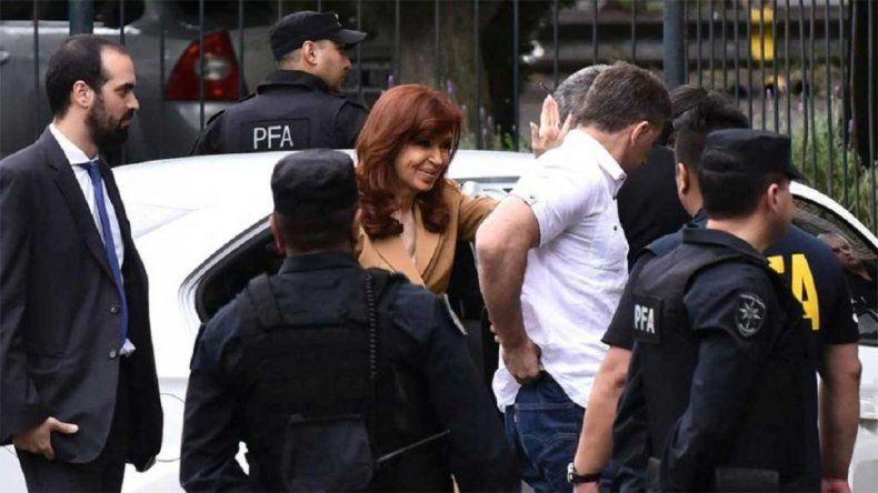 Cristina, en Comodoro Py: no me voy a prestar a esta ficción de jueces