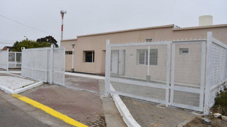 La SCPL rehabilitó la sala de sepelios de Km 8