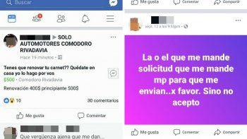 Indignación por venta de carnets de conducir en redes sociales