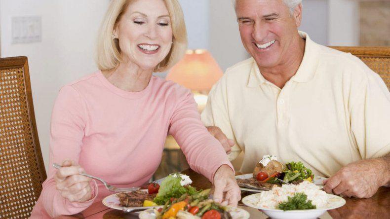 Alimentación saludable para  una buena vejez