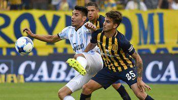 Rosario Central perdió 1-0 ante Atlético Tucumán cuando se midieron por la Superliga.