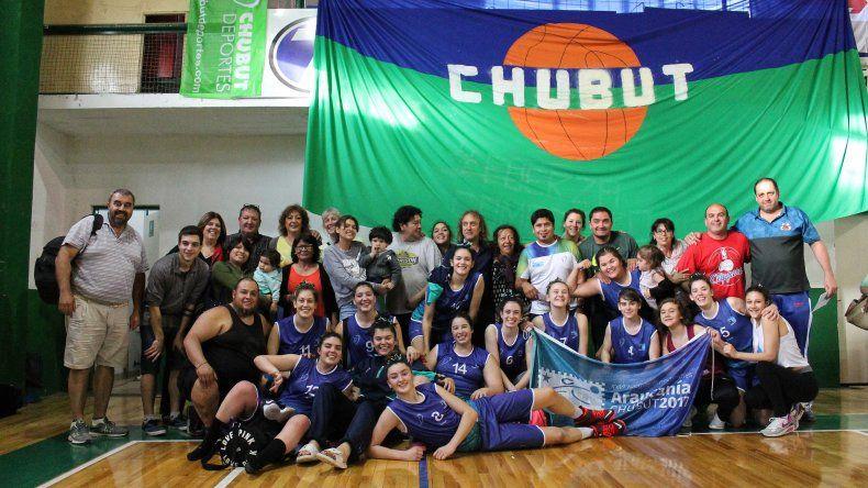 Las chicas de la selección provincial de básquet lograron el pasaje para la final de los Juegos de la Araucanía.