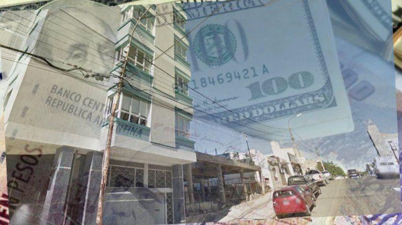 Millonario robo en un edificio del Centro