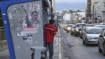 Comodoro Rivadavia ya cumplió cuatro días sin servicio de transporte público de pasajeros.