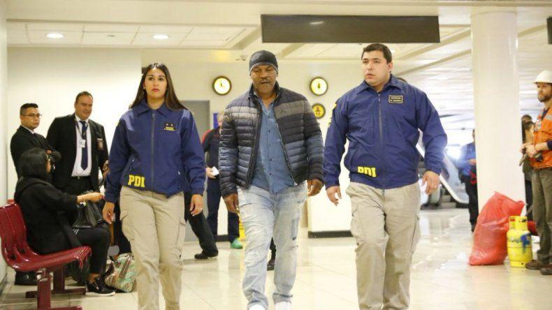 Tyson tampoco fue autorizado para ingresar a Argentina