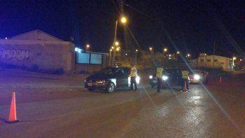 Controlaron 45 vehículos en barrio San Cayetano