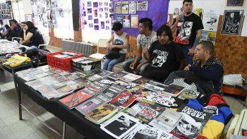 La Feria del Libro Punk se realizó por primera vez en la Patagonia y se espera que la propuesta se extienda a otras localidades de la región.