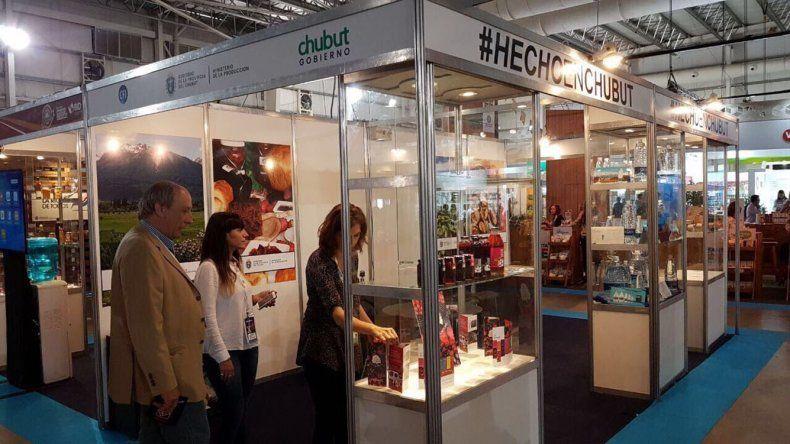 Seis productos de Chubut participaron de la feria AlimentAr que la última semana se realizó en el Predio Ferial de Tecnópolis