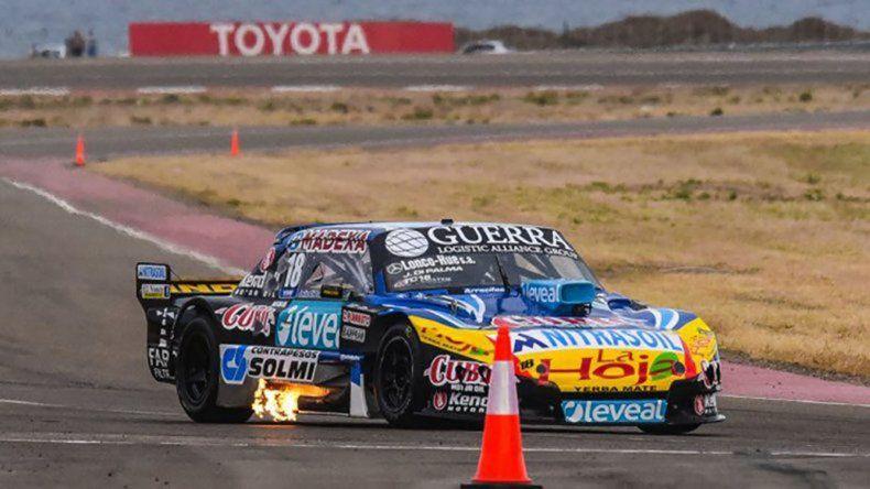 Luis José Di Palma fue el último ganador que tuvo el TC en Comodoro Rivadavia cuando la categoría corrió en noviembre de 2015.