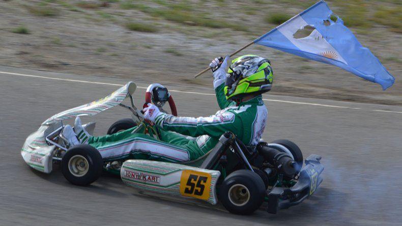 Fabián Carrizo volvió a correr luego de ocho años y es el campeón de la Sudam.