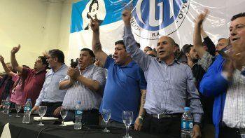 El acto que se realizó el viernes en la sede de Petroleros Privados, donde se conformó el Movimiento Sindical.