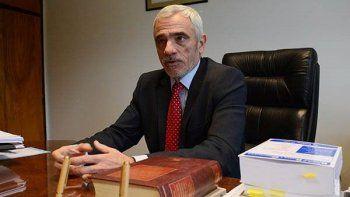 Mario Vivas, vicepresidente del Superior Tribunal de Justicia de Chubut ve con buenos ojos la implementación de las 8 horas de trabajo para los empleados judiciales.