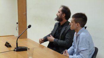 Ezequiel Arrúa ayer fue declarado culpable del homicidio de Paulo Olima.