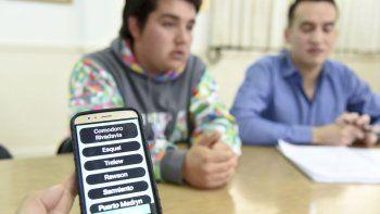 estudiantes que disenaron app viajaran a una feria nacional