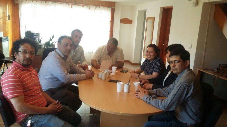 Tras los incidentes se abrió el diálogo entre el Ejecutivo y sindicatos