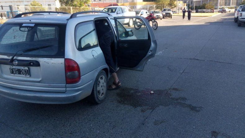 Una niña de 12 años resultó lesionada tras accidente