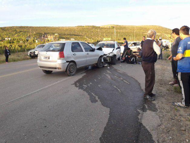 Foto: Esteban S Vía WhatsApp a El Patagónico. <p></p>