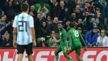 argentina cayo por 4 a 2 en en ultimo amistoso del ano