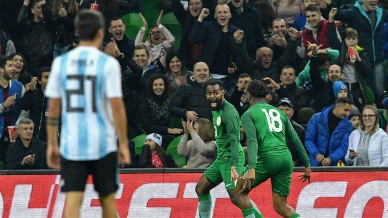 Argentina cayó por 4 a 2 en en último amistoso del año