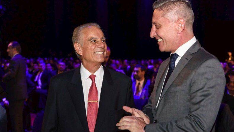 Arcioni participó de la ceremonia por los 20 años de Pan American Energy