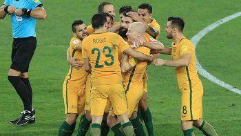australia, el penultimo clasificado al mundial