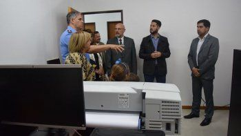 Las nuevas instalaciones del Area Criminalística de Rawson fueron inauguradas ayer con el reconocimiento a sus precursores.