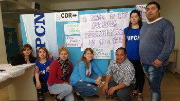 En el Centro de Documentación Rápida de la calle Dorrego ayer suspendieron la atención por dos horas.
