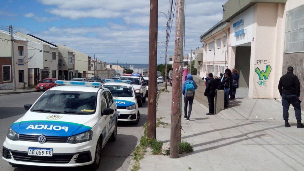Fotos víaWhatsapp a El Patagónico.