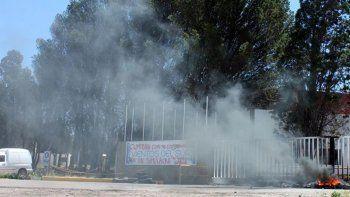 La planta de la empresa está bloqueada por una infundada protesta gremial.
