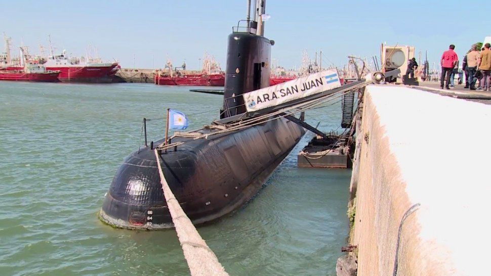 El ARA San Juan había partido desde Ushuaia hacia su puerto base de Mar del Plata.