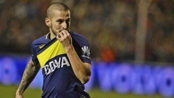 Darío Benedetto, el goleador que tiene el puntero Boca Juniors.