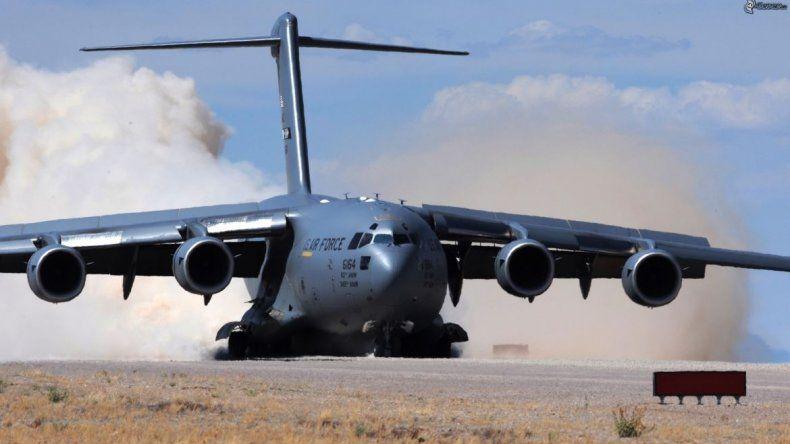 Aviones estadounidenses llegan a Comodoro para sumarse a la búsqueda