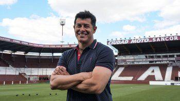 Jorge Almirón, el DT que sueña con quistar por primera vez la Copa Libertadores con Lanús.