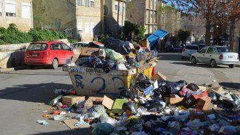 en caleta olivia sigue inactivo el servicio de recoleccion de residuos