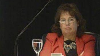 La jueza Nora Cabrera de Monella integra el tribunal que ordenó la detención de Fermín Vargas.