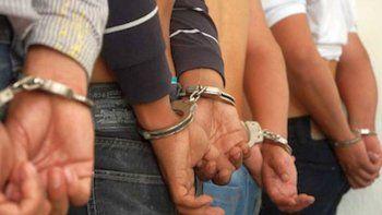 prision preventiva para tres integrantes de una banda delictiva