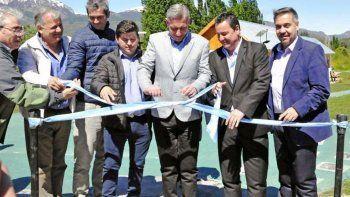 En Corcovado, gobernador e intendente coincidieron en resaltar el legado de Mario Das Neves.