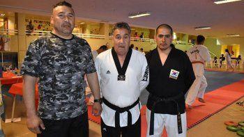 uno de los maximos exponentes del taekwondo wtf brindo una capacitacion