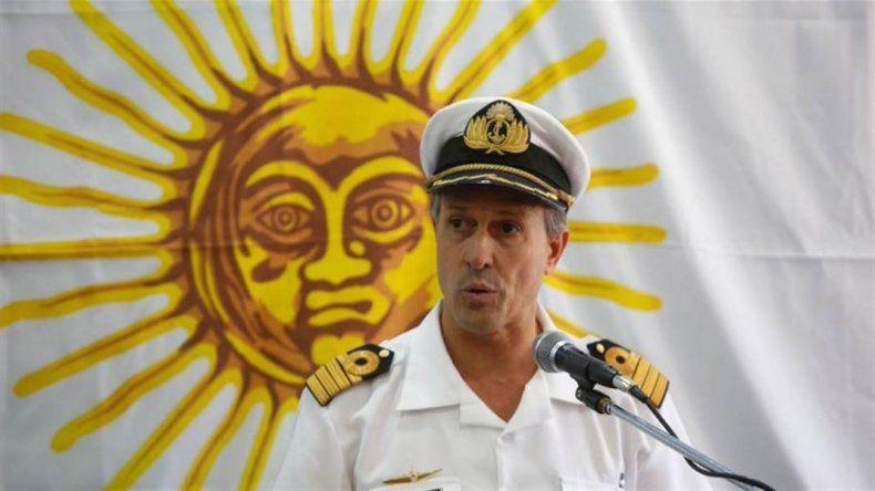 La Armada investiga un contacto que está a 477 metros de profundidad