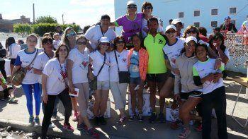 Los últimos ganadores de la edición de la corrida solidaria Juntos por un Corazoncito Feliz.
