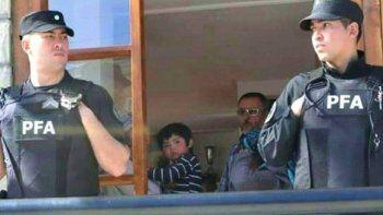 policia federal desalojo a una comunidad mapuche