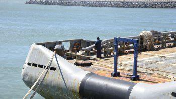 la armada informo que no se ha podido detectar al submarino