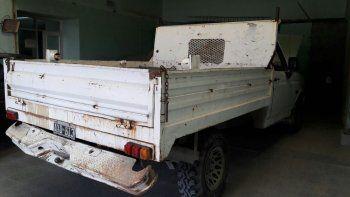 recuperan una camioneta con pedido de captura