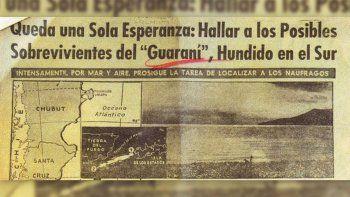 la carta de la hija de uno de los desaparecidos del ara guarani en 1958