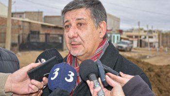El mnistro de Infraestructura, Alejandro Pagani. Chubut figura en los últimos lugares a la hora de destinar fondos desde el gobierno de Macri.