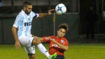 Lisandro López será titular esta noche en Racing, mientras que Nicolás Tagliafico podría ocupar un lugar entre los suplentes de Independiente.