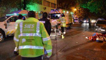 Se incendió un neuropsiquiátrico: un muerto y decenas de heridos